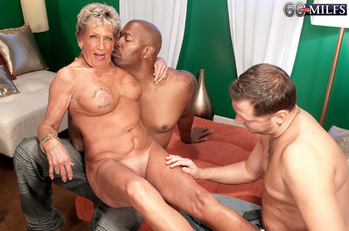 Hot older women having sex